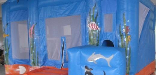 családi , delfines 5x5x3,5 meteres