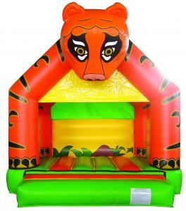 Légvár kölcsönző - Tigrises ugráló légvár