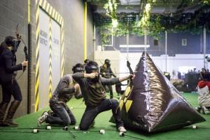 Légvár kölcsönző - Honvédő íjászat - Archery attack